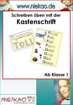 Sprachspiele im Rechtschreibunterricht - Kastenschrift 1