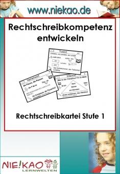Mit Strategien Schreiben lernen - RS-Kartei 1