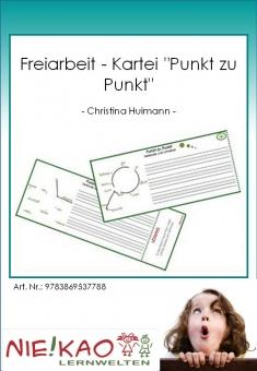 """Freiarbeit - Kartei """"Punkt zu Punkt"""""""