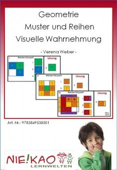 Geometrie - Muster und Reihen - Visuelle Wahrnehmung