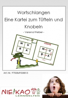 Wortschlangen - Eine Kartei zum Tüfteln und Knobeln