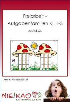 """Freiarbeit - Kartei """"Aufgabenfamilien Kl. 2-3"""""""