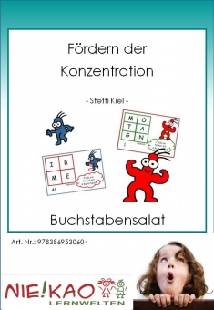 Fördern der Konzentration - Buchstabensalat