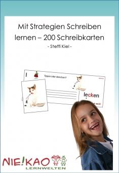Mit Strategien Schreiben lernen - 200 Schreibkarten