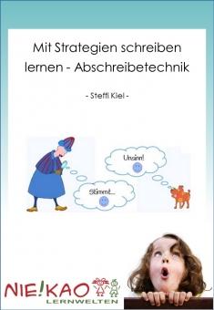 Mit Strategien Schreiben lernen - Abschreibetechnik