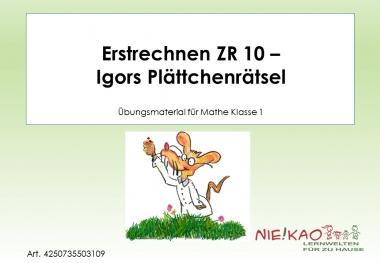 Erstrechnen ZR 10 - Igors Plättchenrätsel