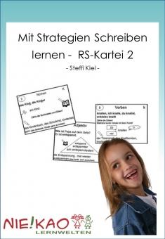 Mit Strategien Schreiben lernen - RS-Kartei 2