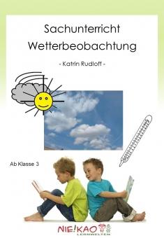 Sachunterricht - Wetterbeobachtung