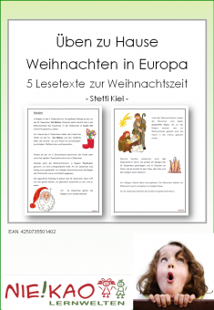 Üben zu Hause - Weihnachten in Europa